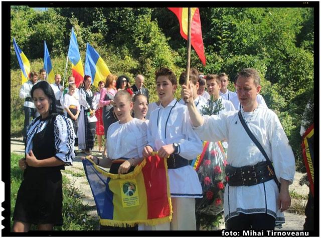 Actiunea Români pentru Români in Inima Tarii, la Odorheiu Secuiesc, foto: Mihai Tirnoveanu