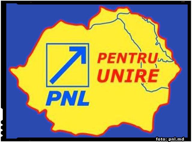 PNL (Moldova) solicita sedintei comune a celor doua Guverne romanesti acceptarea Programului national-liberal de Reintregire pana in 2018, foto: pnl.md