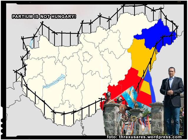 Indignati ca nu pot obtine autonomia Transilvaniei sau macar a Tinutului Secuiesc, un grup de secui cere acum autonomia Crisanei de Vest si unirea ei cu Romania!, foto: thraxusares.wordpress.com