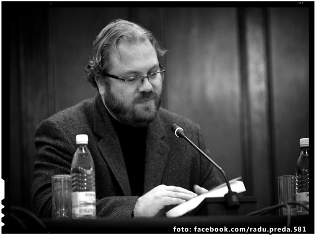 "Bogdan Diaconu: ""Îl sustinem pe presedintele IICCMER Radu Preda si solicitam, in schimb, desfiintarea Institutului Elie Wiesel"", foto: facebook.com/radu.preda.581"