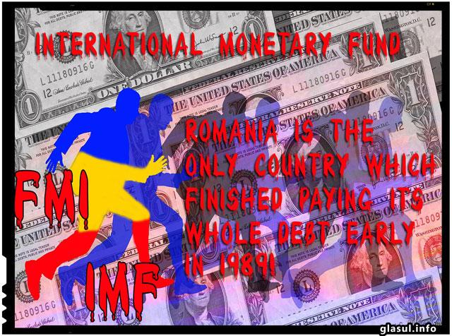 Exista o singura tara care si-a platit integral datoriile externe, este nenorocita de Romania in '89