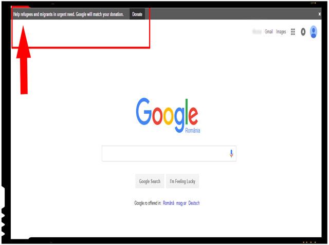 Compania Google se implica in strangerea de fonduri pentru refugiati