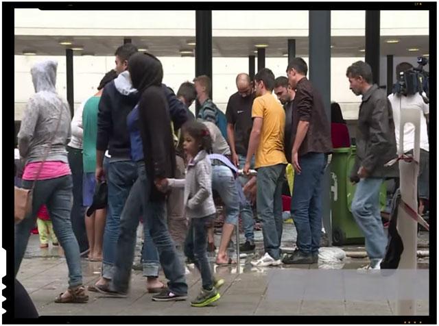 Presa germana ataca tarile care nu doresc cote obligatorii de imigranti. Dar de datoriile Germaniei catre Romania oare ce se mai aude?, foto: captura youtube
