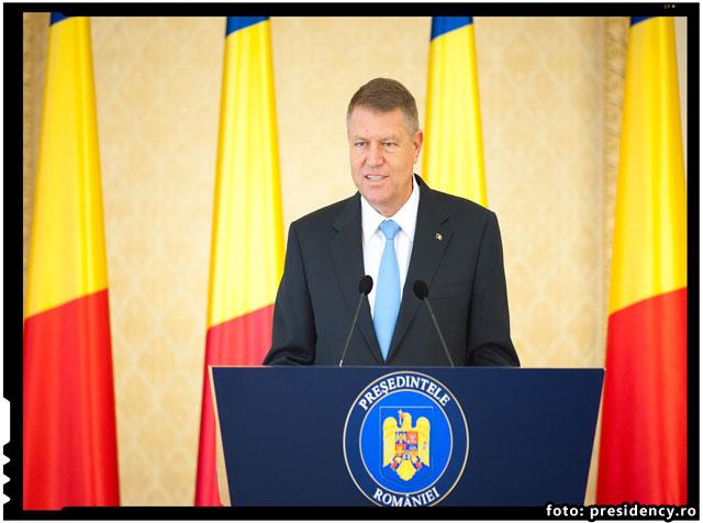 Klaus Iohannis se declara impotriva cotelor obligatorii de imigranti, spunand ca Romania va primi voluntar 1785 de imigranti, foto: presidency.ro
