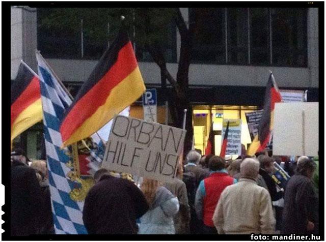 Germanii ii cer ajutorul lui Viktor Orban in problema imigrantilor, foto: mandiner.hu