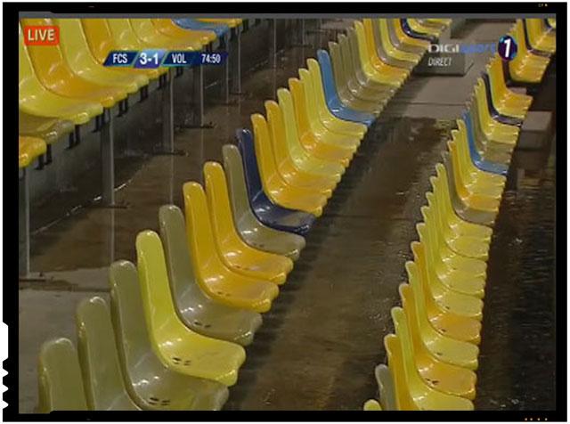 Revoltator! Arena Nationala inundata la prima ploaie mai serioasa, foto: captura Digi Sport
