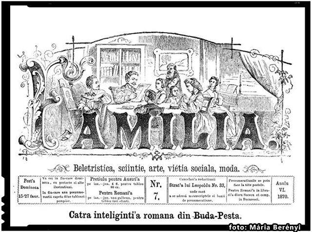 CATRE INTELIGHENTIA ROMANA DIN BUDA-PESTA, foto: Mária Berényi
