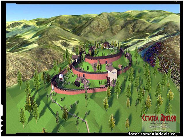 Cetatea Zanelor din Covasna si legendele ei... Comoara de la Cetatea Zanelor, foto: romaniadevis.ro