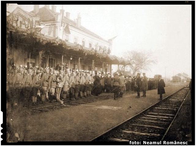 La 3 octombrie 1916, a sosit in Romania misiunea militara franceza condusa de generalul Henri Mathias Berthelot , foto: Neamul Românesc