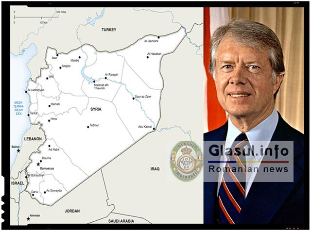 Uluitor! Un fost presedinte al SUA, Jimmy Carter, i-a trimis Rusiei harti secrete cu locatiile celor de la ISIS!