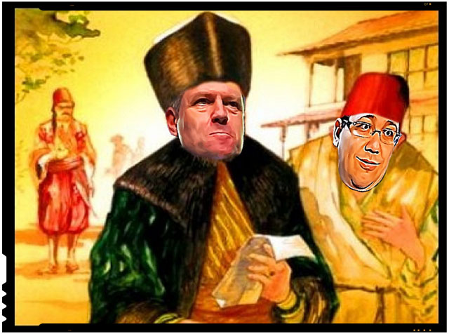 In domnia fanariota a lui Klaus Iohannis, Victor Ponta se plange ca el este serbul supus la cazne cu ardei iuti