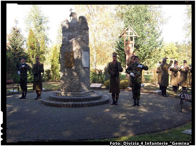 "Manifestari comemorative, la Budapesta, foto:  Divizia 4 Infanterie ""Gemina"""