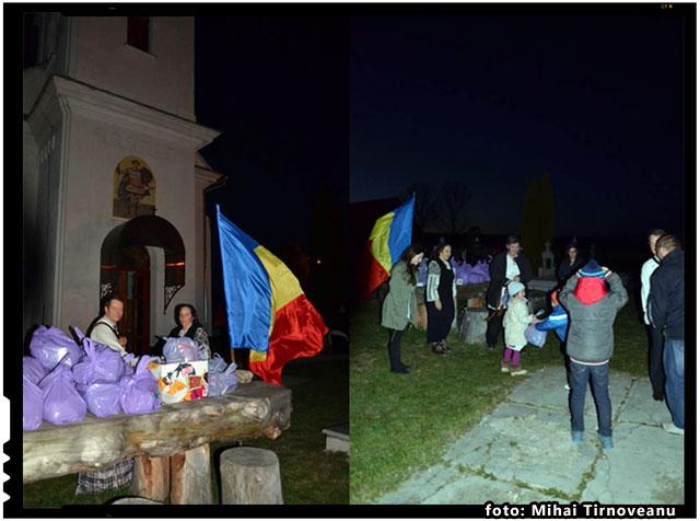 Taranii romani din Covasna au nevoie de Steagul National. Pentru a nu uita ca sunt cine sunt., foto: Mihai Tirnoveanu