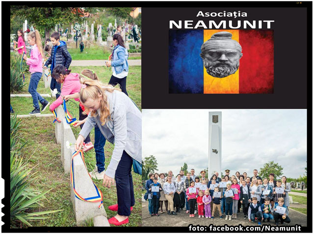 Un erou,o Floare in colaborare cu O.N.C.E. si Neamunit- Filiala Oradea, foto: NeamUnit