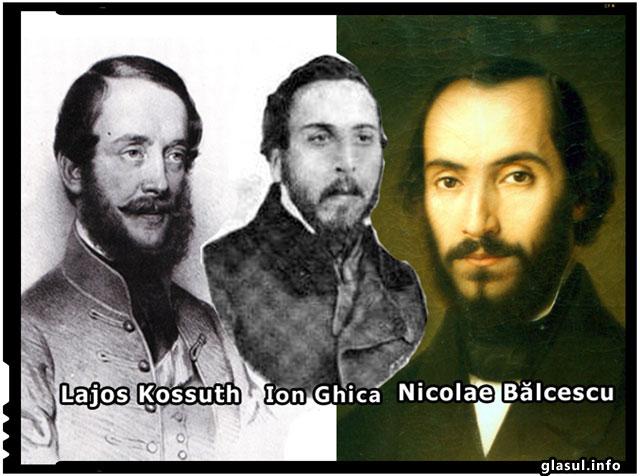"Istoria secreta:""Iluzia unei confederatii maghiaro-romano-sarbe. Triunghiul Balcescu-Ghica-Kossuth"""