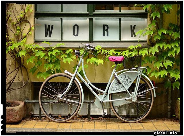 Francezii sunt platiti cu 25 de eurocenti pe kilometru pentru a se deplasa cu bicicleta la munca