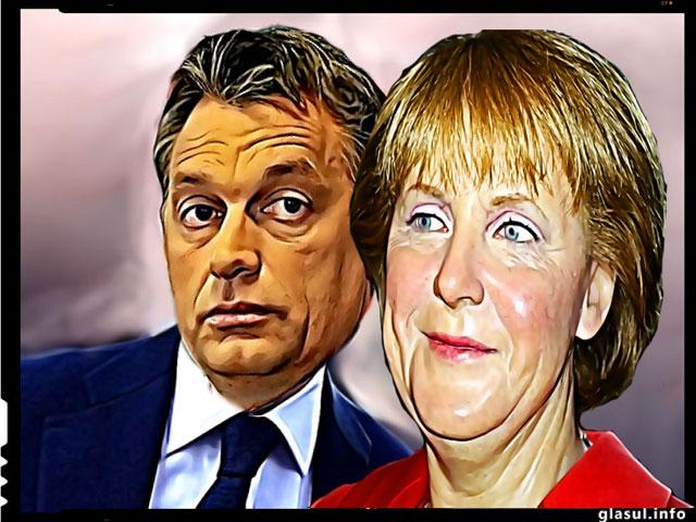 """O va infuria iarasi oare Orban pe Merkel? : """"Islamul nu apartine spriritual Europei"""""""