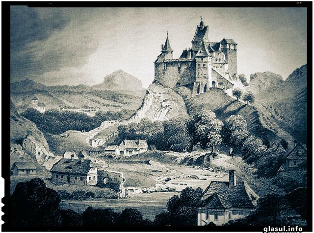 """19 noiembrie 1377 - Prima atestare documentara a Castelului Bran, prin actul emis de Ludovic I de Anjou (1342 - 1382), prin care brasovenii primeau privilegiul de a construi Cetatea """"cu munca si cheltuiala lor proprie"""""""