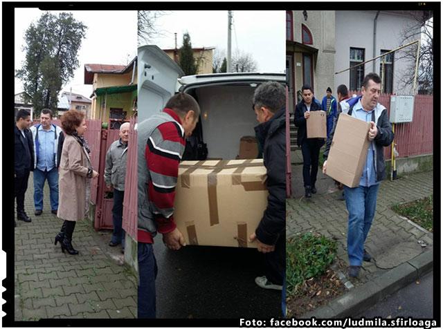 Donatie de suflet pentru Basarabia! Un doctor din Romania a donat cateva sute de carti pentru fratii din Basarabia, foto: facebook.com/ludmila.sfirloaga