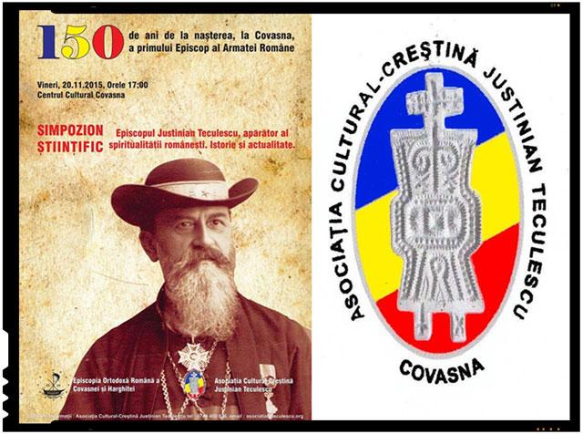 Eveniment: 150 de ani de la nasterea, la Covasna, a primului Episcop al Armatei Romane: Justinian Teculescu, foto: Fundatia Justinian Teculescu