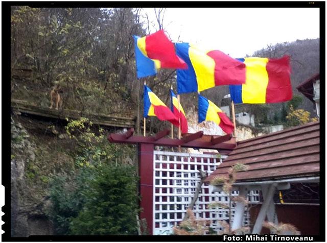 Azi, drapelul meu din curte nu a mai fost singur; i s-au alaturat inca cinci venite de la Ploiesti, foto: Mihai Tirnoveanu