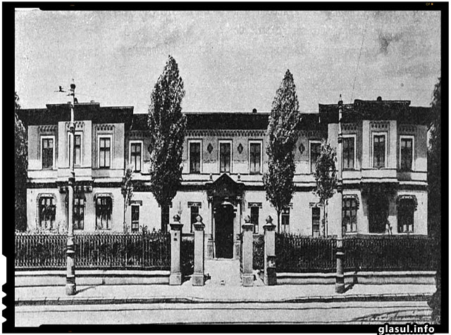 Scoala Centrala de fete (1890, arhitect Ion Mincu)