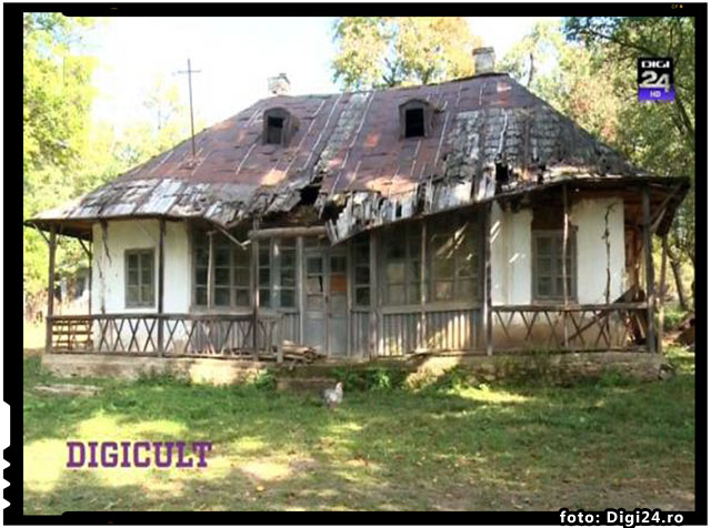 "Campanie sustinuta de Cotidianul.ro: ""Haideti sa salvam casa lui George Enescu din Mihaileni!"", foto: digi24.ro"