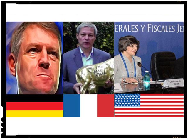 Klaus Iohannis, cetatean german! Dacian Ciolos, cetatean francez! Codruta Kovesi, cetatean american? Incotro, Romania?