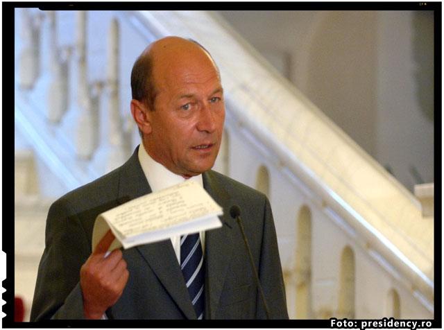 Traian Basescu, apel impotriva cotelor obligatorii de imigranti, foto: presidency.ro