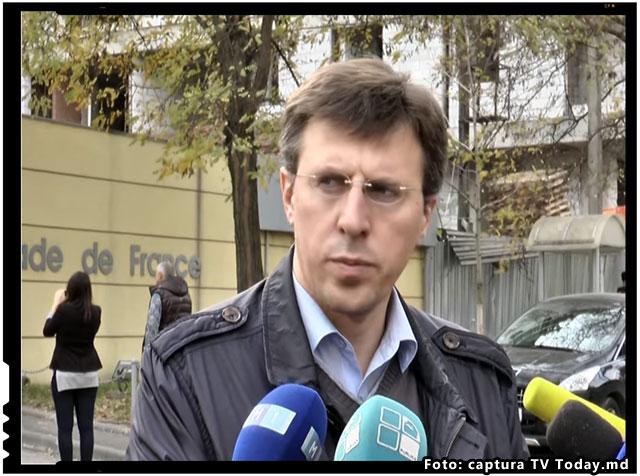 """Dorin Chirtoaca: """"Luati cu asalt Prutul, zdrobiti vamele, granitele, barierele care mai sunt intre noi! S-ar putea sa fie calea cea mai scurta spre Uniunea Europeana"""", foto: captura TV today.md"""