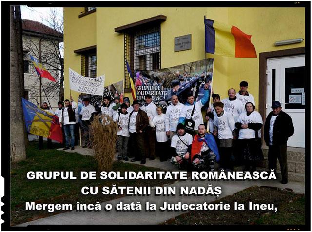GRUPUL DE SOLIDARITATE ROMÂNEASCĂ CU SĂTENII DIN NADĂȘ
