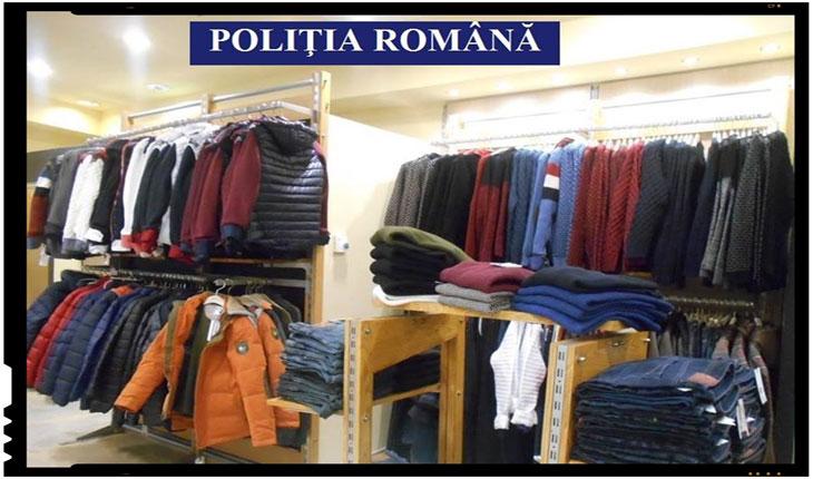 Atentie! Haine false in mall-urile din Romania! Politia romana a desfasurat actiuni pentru prevenirea si combaterea pirateriei