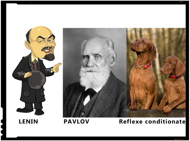 """Vreau ca masele din Rusia sa urmeze modelul comunist de a gandi si a reactiona"", i-a explicat Lenin.... Pavlov a ramas impietrit."