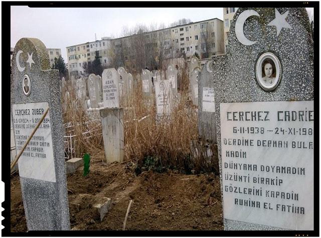Strigator la cer! Mormintele familiei fostului deputat Metin Cerchez au fost profanate