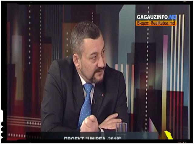 "Unionisti gagauzi, rusi si ucraineni? Victor Alexeev: ""Unirea o doresc si gagauzii cu mintea treaza, rusii si ucrainenii"""