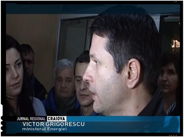 VICTOR GRIGORESCU, MINISTRUL ENERGIEI!, Foto: captura TVR