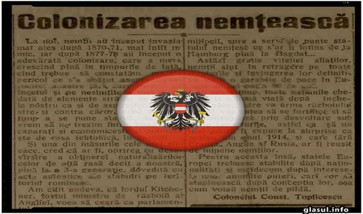 """A doua colonizare """"nemteasca"""" a Romaniei. Austriecii au preluat controlul asupra economiei romanesti"""
