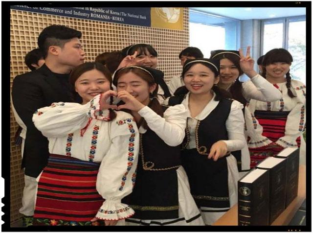 Schimb cultural intre Romania si Coreea, prezentat la Universitatea A. I. Cuza Iasi
