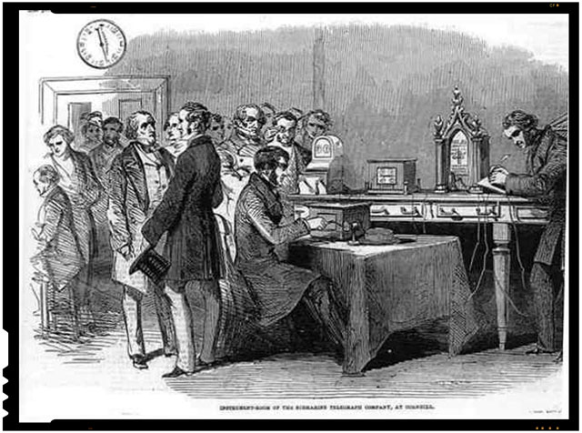 Pe 18 februarie 1854 incepea constructia liniilor de telegraf electric Bucuresti-Giurgiu, Bucuresti-Ploiesti-Brasov si Timisoara-Lugoj-Orsova