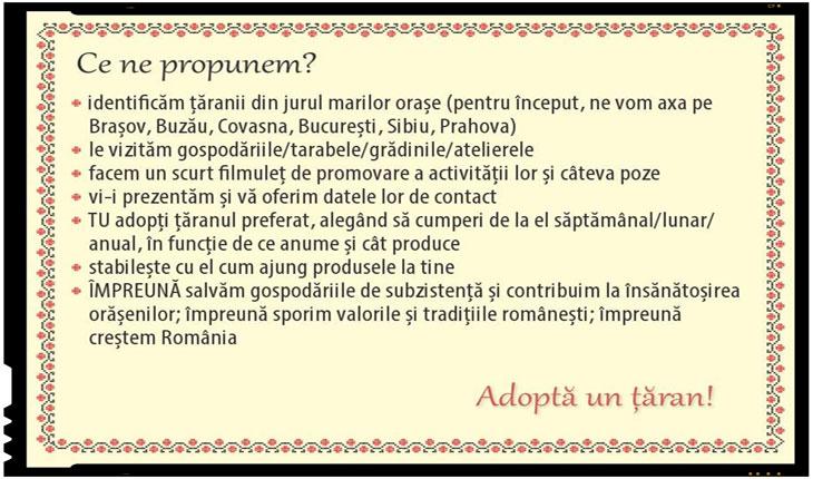 Initiativa inedita: Adopta un taran
