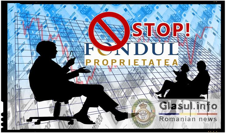 GRUPUL PENTRU ROMÂNIA (GpR) cere desfiinţarea Fondului PROPRIETATEA