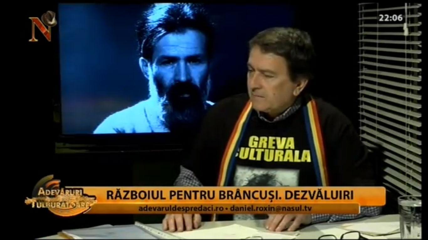 Dezvaluiri socante facute de catre scriitorul Laurian Stănchescu. Conspirația anti-Brâncuși, foto: captura Nasul TV