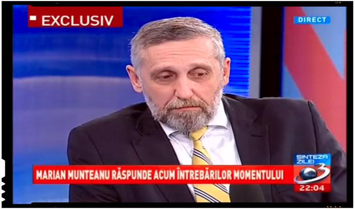 Ordin pe unitate: decredibilizarea pas cu pas a lui Marian Munteanu, foto: captura TV Antena 3
