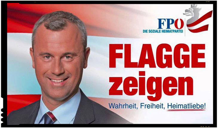 Austria: Norbert Hofer, candidatul extremei drepte, castiga primul tur al alegerilor, foto: captura Youtube