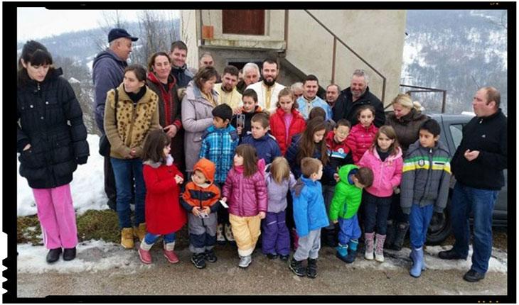 """Romanii din Serbia infiinteaza Școala Neamului Rumânesc din Serbia de Răsărit """"Sfinții Martiri Brâncoveni"""", foto: infoprut.ro"""