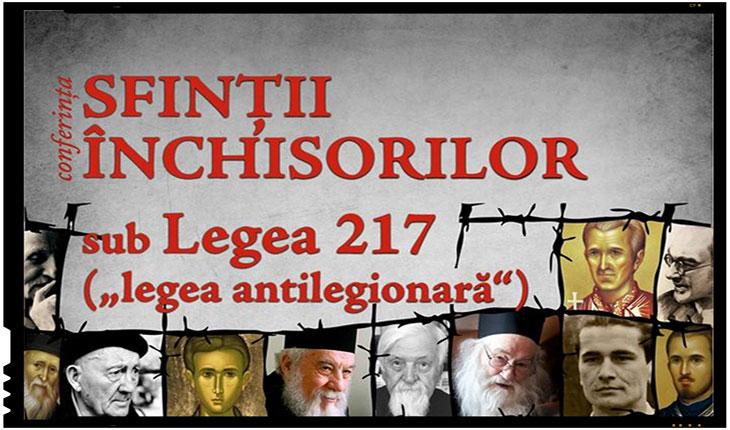 Conferinta cu tema Sfintii Inchisorilor sub Legea 217 la IASI