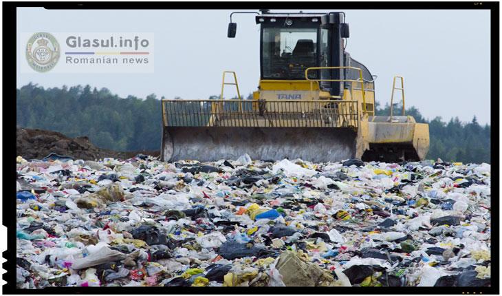 """Sute de mii de tone de gunoaie vor fi """"importate"""" in Romania"""