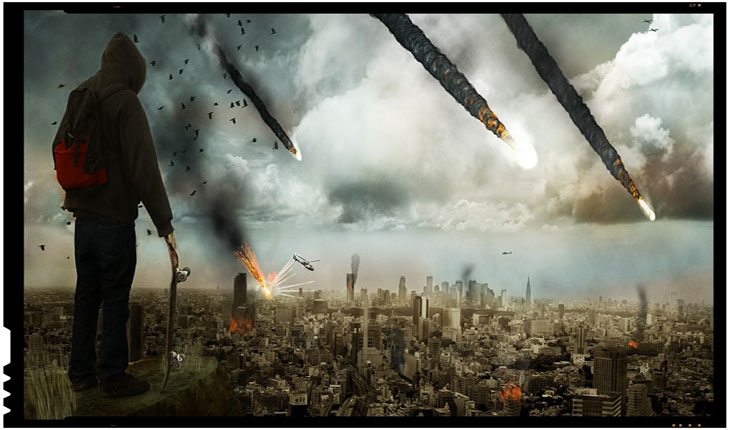 Meteorit explodat in atmosfera la IASI?
