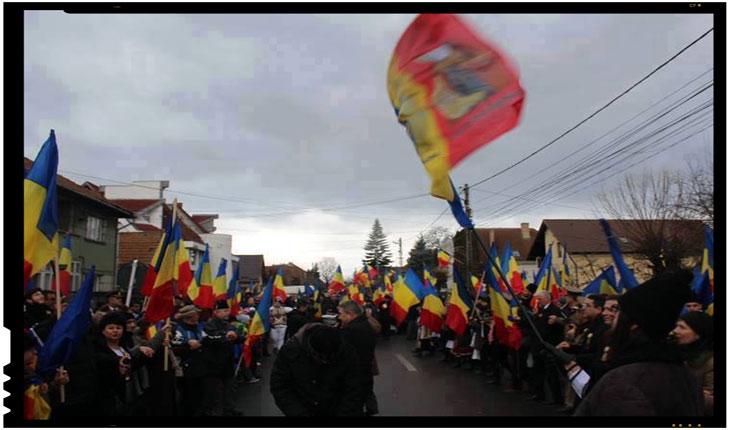 Noi toți suntem Covasna și Harghita. Și suntem mulți. Și ducem Crucea împreună., Foto: Mihai Tirnoveanu