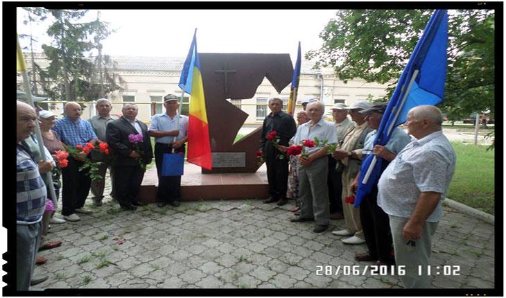 Unionistii din Republica Moldova au comemorat la Drochia ziua neagră de 28 iunie, Foto: www.pnl.md